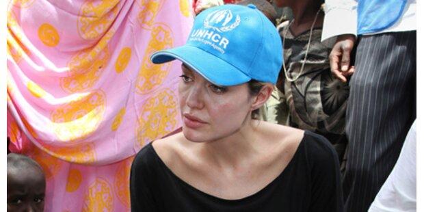 Jolie besuchte Flüchtlingslager in Kenia
