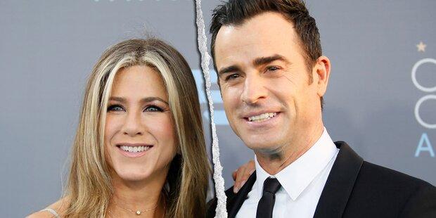 Waren Aniston & Theroux nie verheiratet?