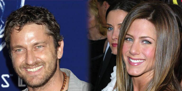 Heftiger Flirt zwischen Aniston und Butler
