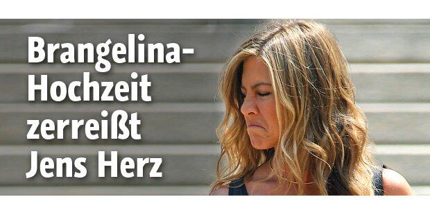 Brangelina-Hochzeit zerreißt Jens Herz
