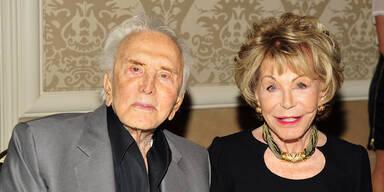 Witwe von Kirk Douglas mit 102 Jahren gestorben
