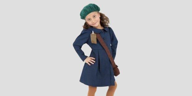 Anne-Frank-Kostüm sorgt für Empörung
