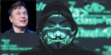 """""""Musk zerstört Leben"""": Anonymous postet Drohvideo gegen Tesla-Boss"""