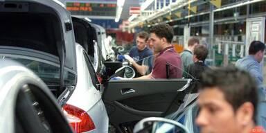 Auto-Absatz in Europa erstmals wieder gestiegen