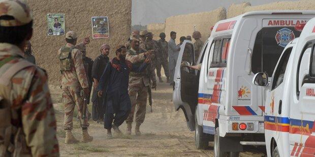 Tödlichster Anschlag seit Jahren: 128 Tote in Pakistan