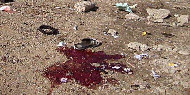 Zehn Tote bei Serie von Bombenanschlägen