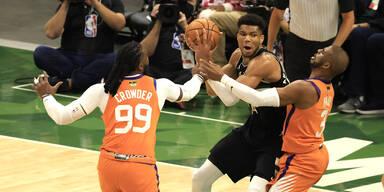 Milwaukee Bucks krönen sich zum NBA-Champion