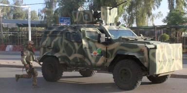 Anti Terror Irak Polizei