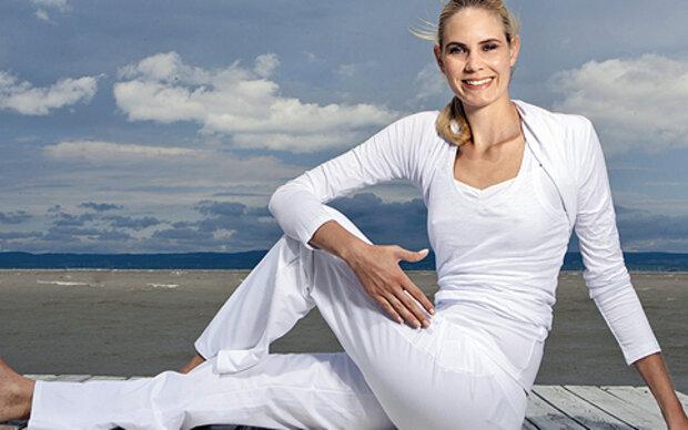 In Balance mit Anti-Aging-Yoga