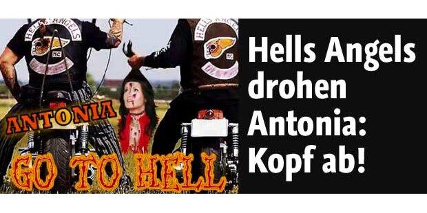 Hells Angels drohen: Kopf ab bei Antonia