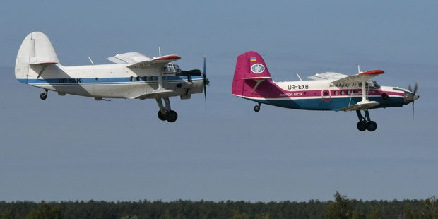 Zwei Tote bei Unglück während Flugshow