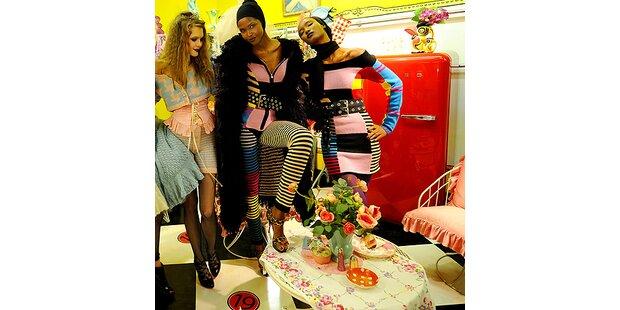 Auch Kitsch und Ironie haben in der Mode Platz