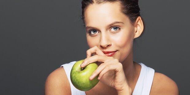 Ein Apfel am Tag lässt die Pfunde schmelzen