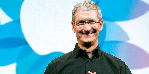Apple casht 8 Mio. pro Stunde