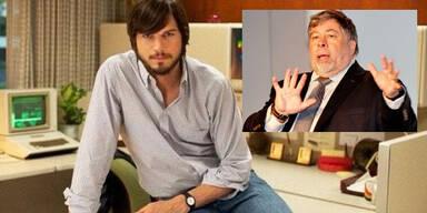 Ashton Kutcher -  Steve Wozniak