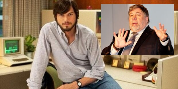 Apple-Co-Gründer  sauer wegen Jobs-Film
