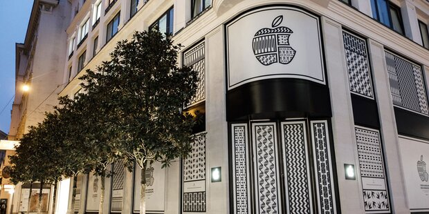 Apple Store in Wien eröffnet diese Woche
