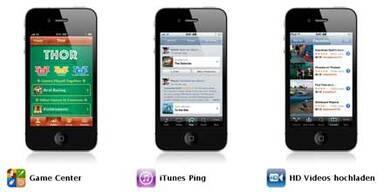iOS 4.1 für iPhone & iPod Touch verfügbar