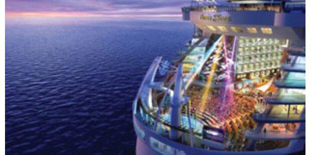Das größte Traumschiff der Welt