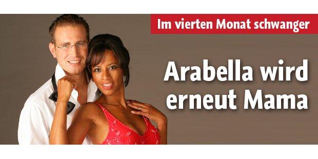 Arabella Kiesbauer: Baby unterwegs!
