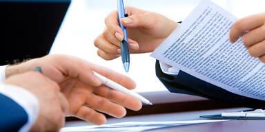 Arbeit, Team, Vertrag - Mein Betriebsrat - Konsole Kollektivvertrag
