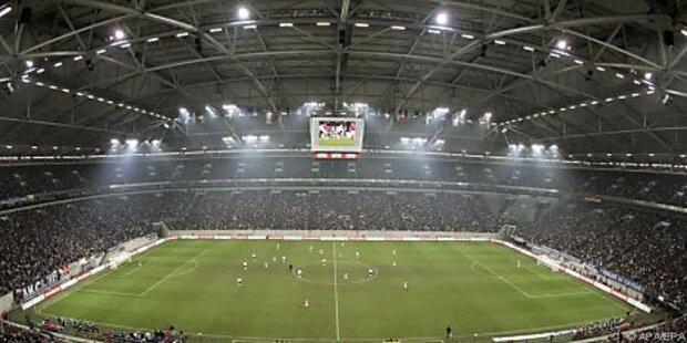 Österreich in Gelsenkirchen gegen Deutschland