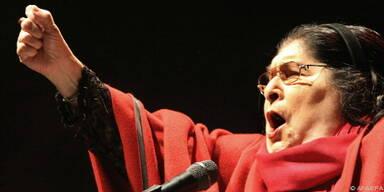 Argentinische Folksängerin ringt mit dem Tod