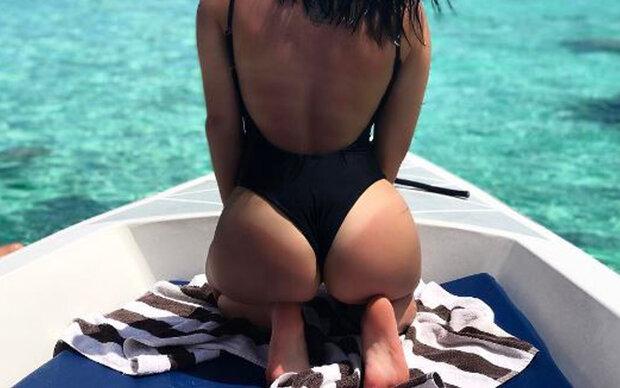 Wer macht hier Po-Queen Kim Kardashian Konkurrenz?