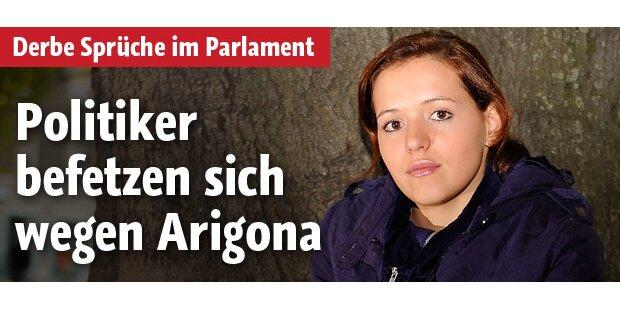Politiker befetzen sich wegen Arigona