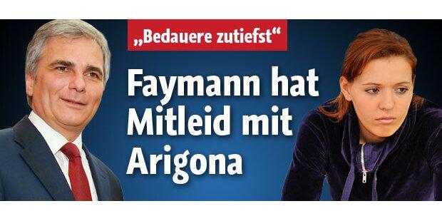 Faymann hat Mitleid mit Arigona