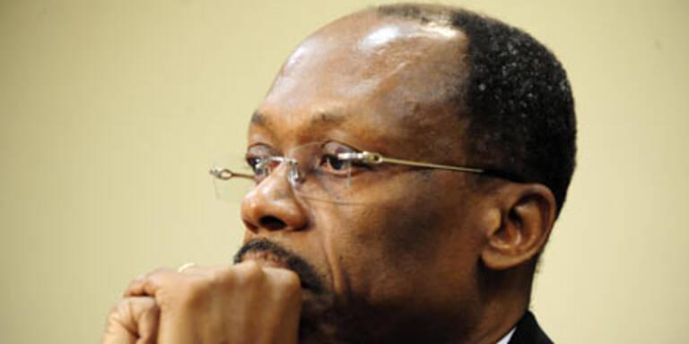 Haitis Ex-Präsident Jean-Bertrand Aristide