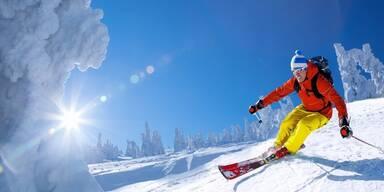 Arlberg - Skifahrer