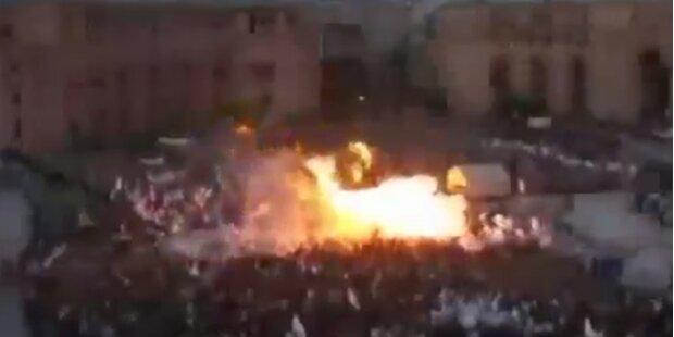 Explodierende Ballons verletzen 140 Menschen