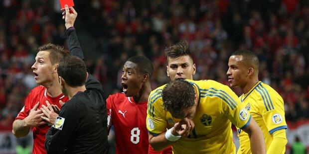 ÖFB-Elf verliert gegen Schweden