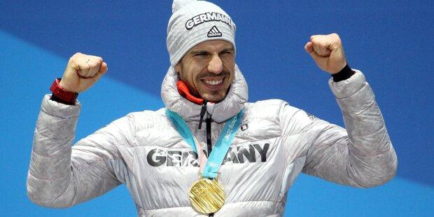 Biathlet gewinnt Gold: Kritik an Olympia