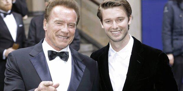 Schwarzenegger-Sohn im Anflug auf Wien