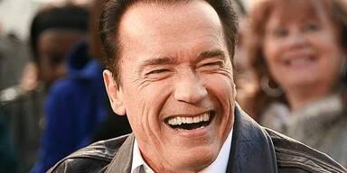 Arnie freut sich auf Wien