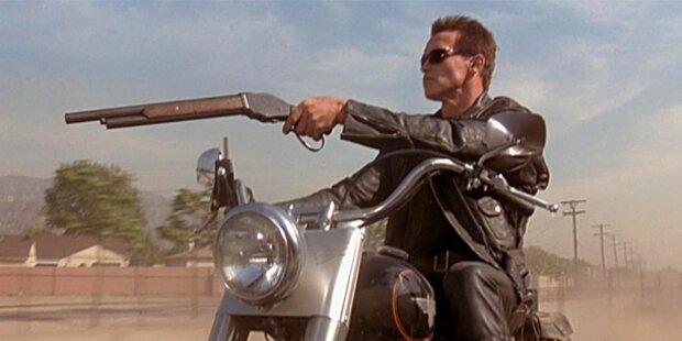 Arnold Schwarzenegger im Blutrausch