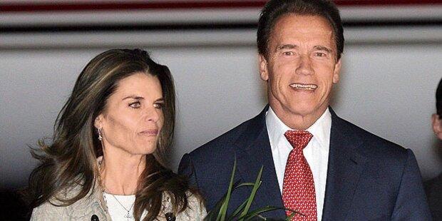 Scheidung von Arnie auf Eis?