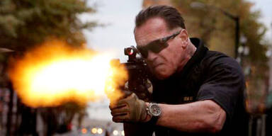 Arnie kämpft wieder gegen das Böse