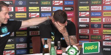 Marko Arnautovic weint