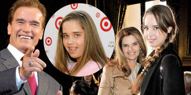 Arnold Schwarzenegger, Maria Shriver und Tochter Christina