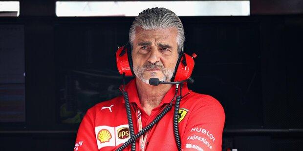 Ferrari-Teamchef Arrivabene vor dem Aus