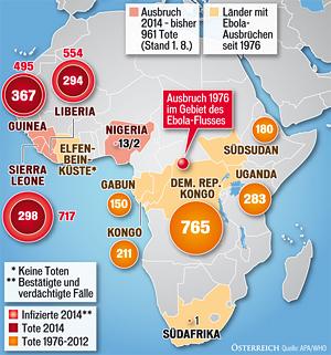 Ebola Ausbreitung