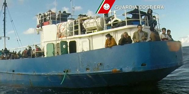 Flüchtlinge Italien Schiff