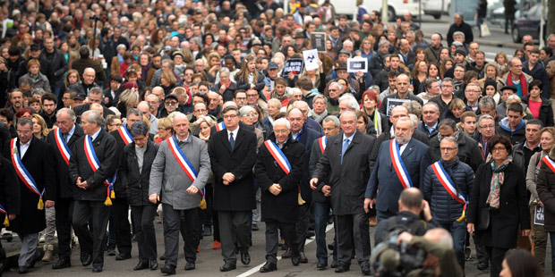 Marsch gegen den Terror in Frankreich