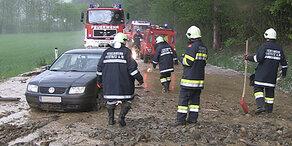 Wetter: Regen sorgt für Hochwassergefahr