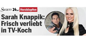 Herzklopfen: Sarah Knappik ist frisch verliebt