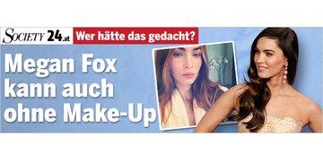 Wer hätte das gedacht?: Megan Fox kann auch ohne Make-Up