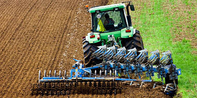 Pflug Bauer Traktor